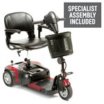 more details on Prism 3 Wheel Mobility Scooter Class 2 - Red.