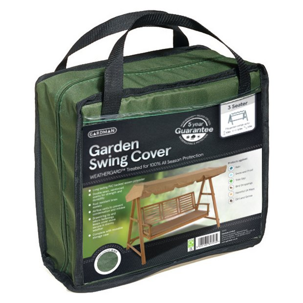 buy gardman 3 seater hammock cover green at. Black Bedroom Furniture Sets. Home Design Ideas
