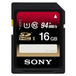 more details on Sony 16GB Class 10 SDHC Memory Card.