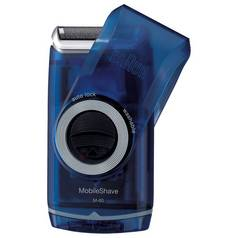 Braun MobileShave Wet and Dry Portable Electric Shaver M-60b