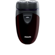 more details on Philips Cordless Travel Electric Shaver Series 1000 PQ203/17