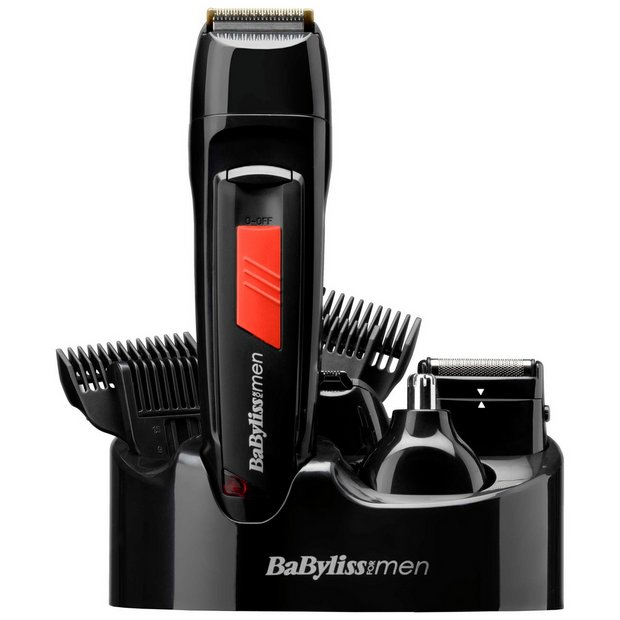 buy babyliss for men 7056du titanium grooming kit at argos. Black Bedroom Furniture Sets. Home Design Ideas