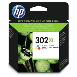 HP 302 XL High Yield Original Ink Cartridge - Colour