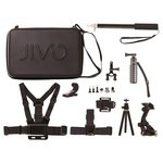 more details on Jivo GoGear 11 In 1 Accessory Kit For GoPro and Action Cams