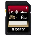 more details on Sony 94MBS 8GB Class 10 UHS-I SDHC Memory Card.