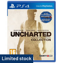 Uncharted Nathan Drake Collection - PS4