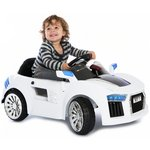 more details on Kids@Play 6V White Sports Car.