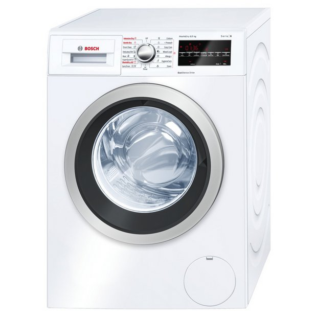 buy bosch wvg30461gb washer dryer white at. Black Bedroom Furniture Sets. Home Design Ideas