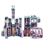 more details on Monster High High School Playset