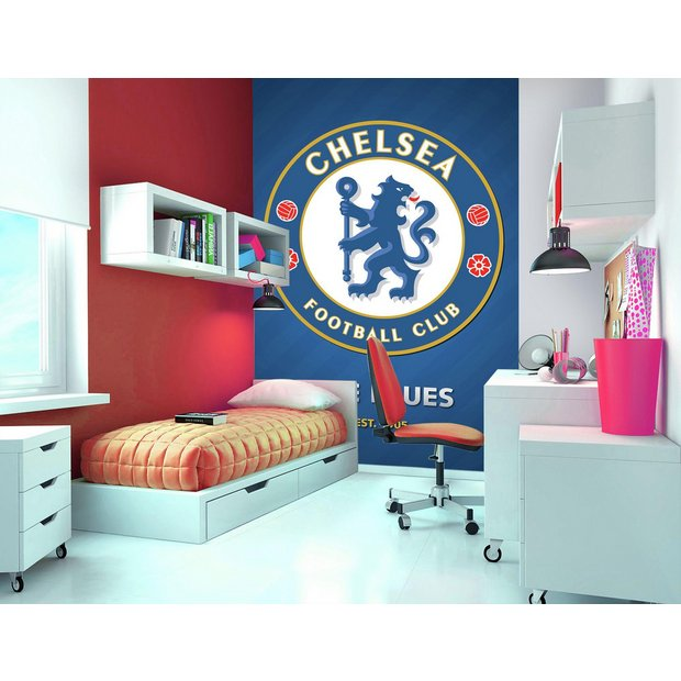 Buy 1wall Chelsea Fc Wall Mural At Your Online Shop For Murals And Wall Stickers