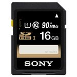 more details on Sony 16GB Class 10 SDHC UHS-I Memory Card.