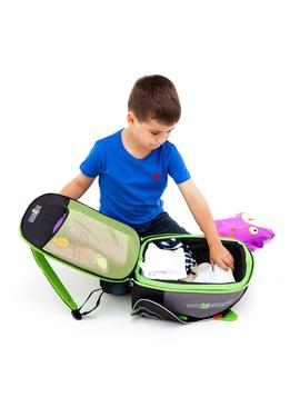 Trunki BoostApak Car Booster Seat 8L Backpack - Green