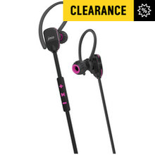 HMDX Sports Jam Bluetooth Wireless Headphones - Pink