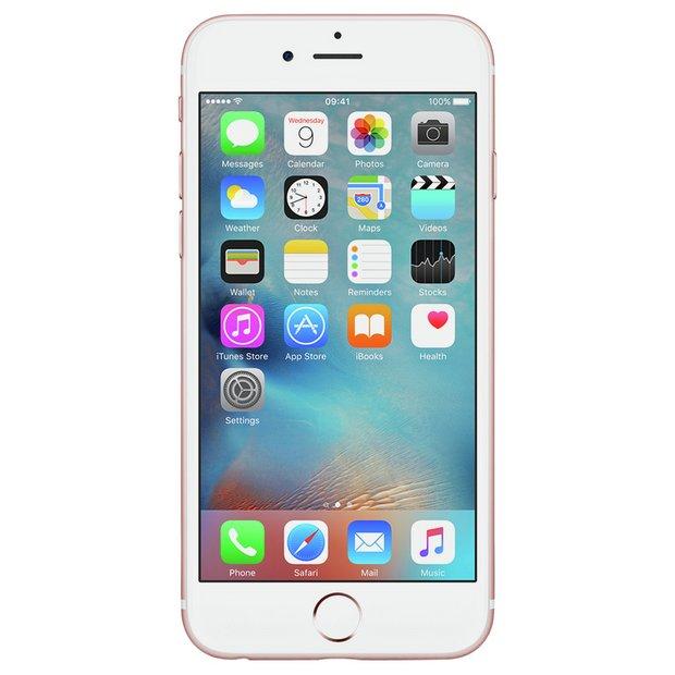 Iphone  Rose Gold Argos