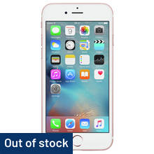 Sim Free Apple iPhone 6s 64GB Mobile Phone - Rose Gold