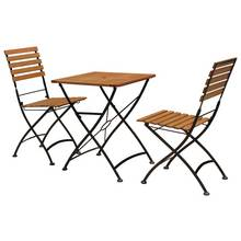 Flora 2 Seater Wooden Bistro Set