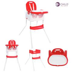 MyChild Graze 3 In 1 Multi Highchair - Red