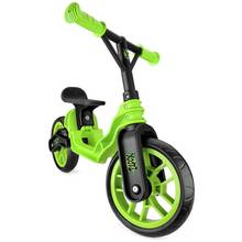 Xootz TY5510 Kids Folding Balance Bike - Green