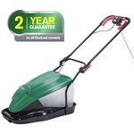 more details on Qualcast Corded Hover With Mulch And Collect Mower - 1800W.