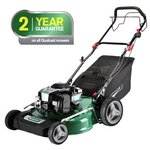 more details on Qualcast 51cm Wide Self-Propelled Petrol Lawnmower - 150Cc.
