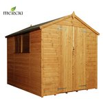 Mercia Shiplap Apex Wooden Garden Shed - 8 x 6ft.