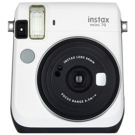 instax Mini 70 camera with 10 shots - White