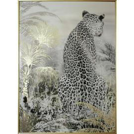 Arthouse Leopard Capped Framed Canvas