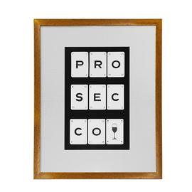 Arthouse Prosecco Framed Print