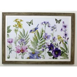 Arthouse Floral Meadow Framed Print