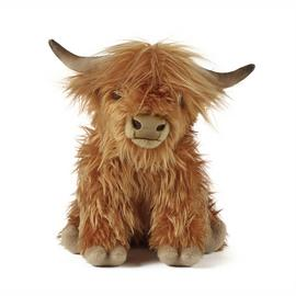 Living Nature Large Highland Cow with Sound