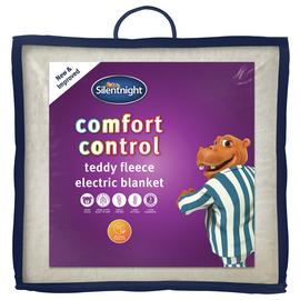 Silentnight Deluxe Fleecy Electric Blanket - Single