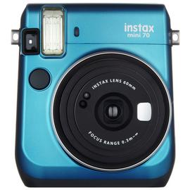 instax Mini 70 camera with 10 shots - Blue