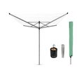 more details on Brabantia 50m 4 Arm Lift-O-Matic Rotary Airer & Accessories.
