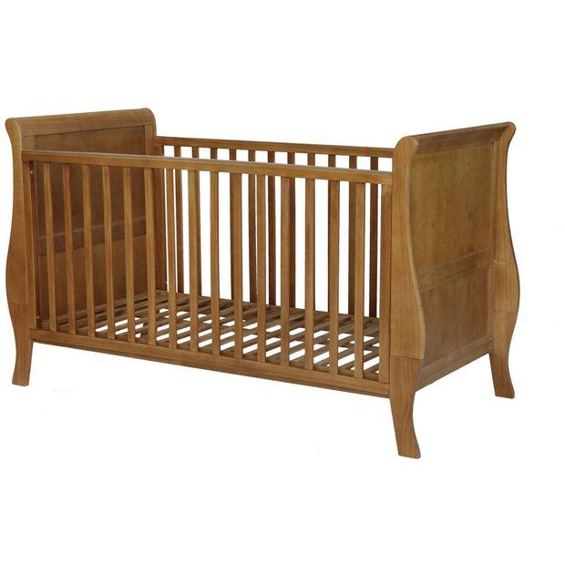 Sleigh Beds At Argos : Buy kub sleigh cot bed dark at argos your