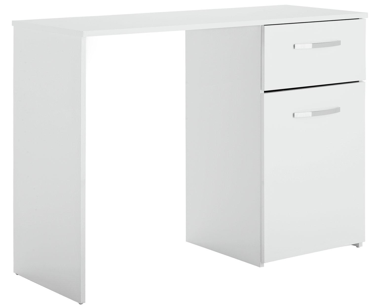 White Desk Great With White Desk Buy New Malibu Drawer