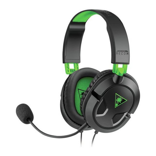 Buy Turtle Beach Recon 50X Xbox One, PS4, PC Headset Black | Gaming headsets | Argos