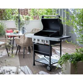 Argos Home Premium 4 Burner Gas BBQ & Side Burner