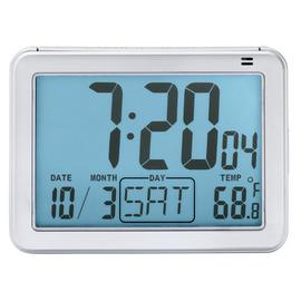 London Clock Company Large Display Digital Alarm Clock