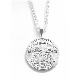 Silver Plated Celtic Pendant and Chain.