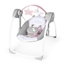Ingenuity Comfort 2 Go Portable Swing - Floral
