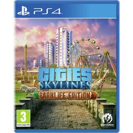 Cities: Skylines Parklife Edition PS4 Game