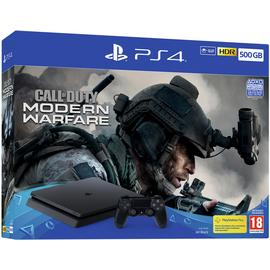 Sony PS4 500GB Console & COD: Modern Warfare Pre-Order