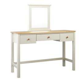 Argos Home Bournemouth 3 Drawer Dressing Table - Light Grey