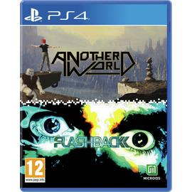 Another World & Flashback PS4 Game Double Pack Pre-Order