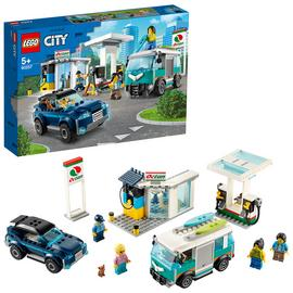 LEGO City Turbo Wheels Service Station Building Set - 60257
