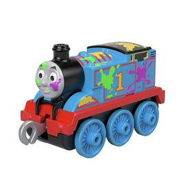 Thomas & Friends Small Push Along Engine -Paint Splat Thomas