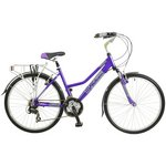 more details on Falcon Voyager Hybrid Bike - Womens