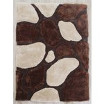3D Stepping Stones Rug - 120x170cm - Natural