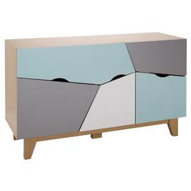 Argos Home 3 Door 2 Drawer Sideboard - Multicoloured