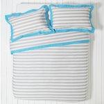 more details on ColourMatch Highlight Stripe Bedding Set - Single.
